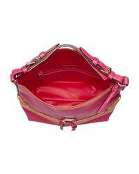 Dooney & Bourke | Pink Seville Med Zipper Pocket Sac | Lyst