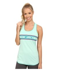 The North Face | Green Graphic Play Hard Tank Top | Lyst