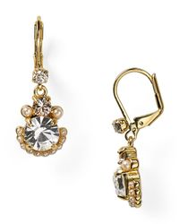kate spade new york | Metallic Palace Gems Drop Earrings | Lyst
