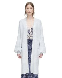 Rebecca Taylor | Blue Cozy Mouline Coat | Lyst