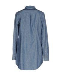Novemb3r - Blue Shirt - Lyst