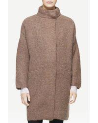 Rag & Bone Natural Cammie Sweater Coat