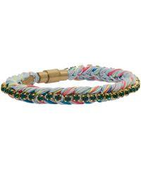 Venessa Arizaga Green Rainbow Family Bracelet
