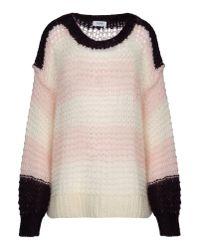 Sonia by Sonia Rykiel White Long Sleeve Sweater