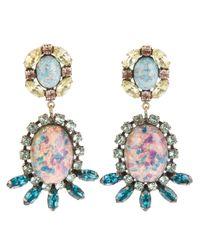 DANNIJO | Pink Paz Earrings | Lyst