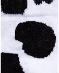ASOS - Black Socks with Cow Design for Men - Lyst