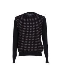 Drumohr Purple Sweater for men