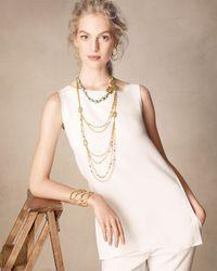Alexis Bittar | Metallic Elements Multi-strand Layered Necklace | Lyst