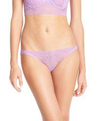 Skarlett Blue Purple 'socialite' Hipster Bikini Briefs
