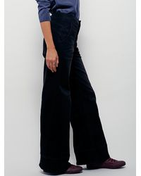 Free People - Black From Every Angle Hi Waisted Bell - Lyst
