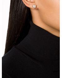 Nektar De Stagni Gray Spike Pearl Earrings