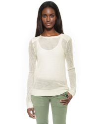 BB Dakota | White Rosie Sweater | Lyst