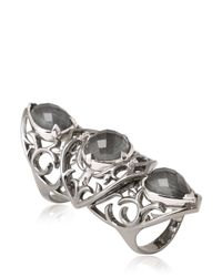 Stephen Webster | Metallic Les Dents De La Mer Articulated Ring | Lyst