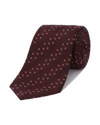 Paul Smith | Brown Stripe Tie for Men | Lyst