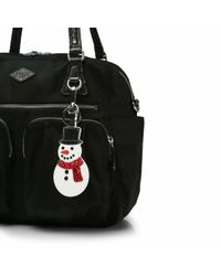 MZ Wallace - Multicolor Snowman Charm - Lyst