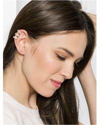 BaubleBar - Metallic Ice Athena Ear Cuff- Champagne - Lyst