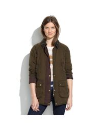 Madewell Green Barbourreg Repaired Bedale Jacket