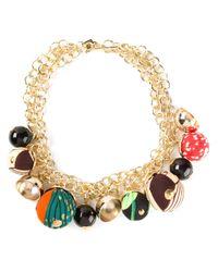 Stella Jean | Metallic Stoccolma Necklace | Lyst
