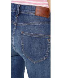 Madewell Blue High Rise Skinny Jeans Atlantic