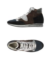 Philippe Model | Black High-tops & Trainers | Lyst