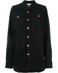 Off-White c/o Virgil Abloh | Black Striped Back Jacket | Lyst