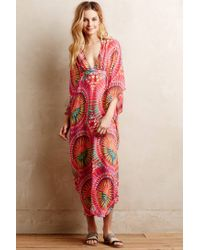 Anthropologie | Red Mara Hoffman Mina Coverup | Lyst