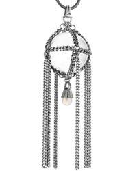 Jenny Bird - Metallic Chambered Orb Pendant - Lyst
