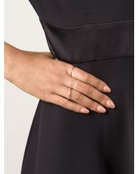Spinelli Kilcollin | Metallic Pavé Diamond Linked Ring | Lyst