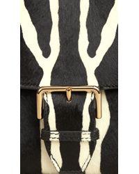 Burberry - Natural Small Calfskin Cross-Body Bag - Lyst