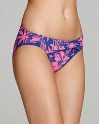 Tommy Bahama Pink Sugar Shack Twist Front Hipster Bikini Bottom
