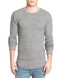 Lucky Brand Gray Long Sleeve Crewneck Thermal for men
