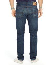 Ralph Lauren Blue Denim & Supply Slim Fit Jeans for men