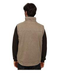 Woolrich - Natural Dorrington Ii Vest for Men - Lyst