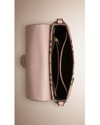 Burberry - Pink Small Horseferry Cross-Body Bag - Lyst