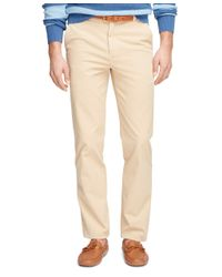 Brooks Brothers - Natural Clark Fit Garment-dyed Chinos for Men - Lyst