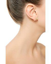 Fallon - Metallic Shalom Spike Earrings - Lyst