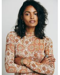 Free People | Natural Womens Annabelle Tunic | Lyst