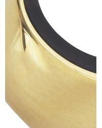 Michael Kors | Metallic Gold Tone And Tortoiseshell Ring | Lyst