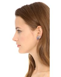 Ca&Lou - Metallic Tea Earrings - Rose Gold/rose - Lyst