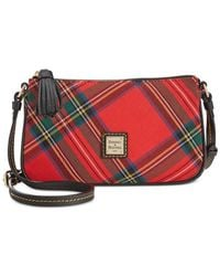 Dooney & Bourke | Red Tartan Lexi Crossbody | Lyst
