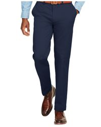 Polo Ralph Lauren - Blue Classic-fit Stretch-chino Pants for Men - Lyst