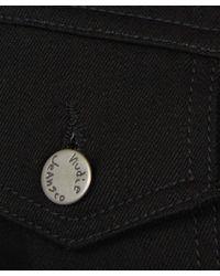 Nudie Jeans Kenny Dry Black Denim Jacket for men
