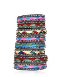 Deepa Gurnani | Blue Fiesta Bonita Bracelet | Lyst