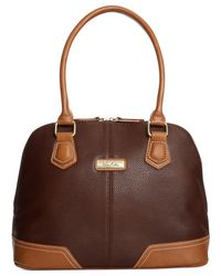Marc Fisher - Brown Park Ave Dome Satchel - Lyst