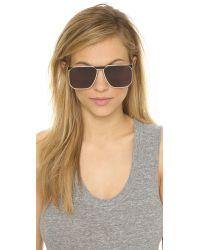 Ksubi Helicon Sunglasses - Black/Smoke Mono