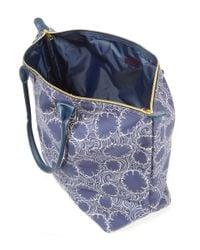 Mi-Pac   Blue 140th Birthday Print Tote Bag   Lyst