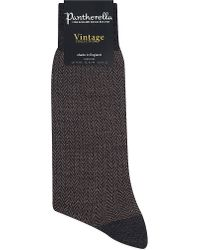 Pantherella | Vintage Finsbury Socks, Men's, Grey/brown for Men | Lyst