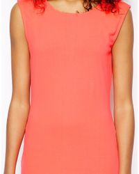 Monki - Pink Exclusive Sleeveless Bodycon Dress - Lyst