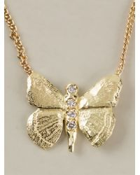 Wouters & Hendrix - Yellow 'Butterfly' Necklace - Lyst