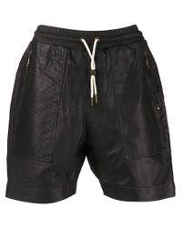 Zanerobe Black 'gabe' Shorts for men